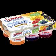 Savoie Yaourt Yaourts Sur Lit De Fruits Double Sensation Savoie Yaourt, 6x125g