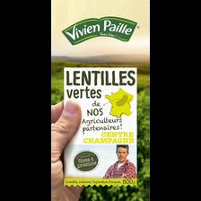 Vivien Paille Lentilles Vertes De Nos Agriculteurs Partenaires , 500g