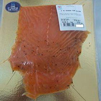 Tranches saumon fumé (SALMO SALAR) Elevage Norvège