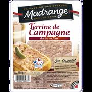 Madrange Terrine De Campagne Dorée Au Four Vpf Que L'essentiel Madrange, 180g