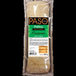 Préfou de saison pré tranché PASO, barquette de 350g