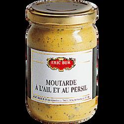 Moutare au vinaigre ail et persil ERIC BUR, 200g