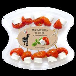 Brochet chèvre frais pasteurisé 27% de MG tomates confites F.COEUR, 80g