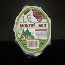 LE MONTBELIARD FROMAGE A PATE MOLLE AU LAIT PASTEURISE 31,1%MG