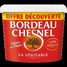 Bordeau Chesnel Rillette Du Mans Pur Porc , 220g Offre Découverte