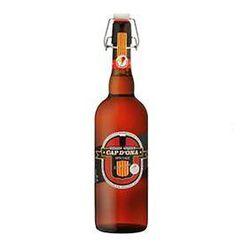 BIERE BLONDE CAP D'ONA , aromatisée au Banyuls, bouteille de 750ML
