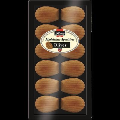 Madeleine apéritives olives 120g PE