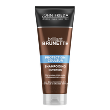 Shampooing brillant brunette nutrition protection couleur JOHN FRIEDA,250ml