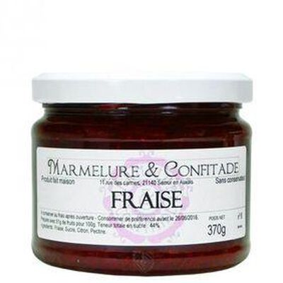 CONFITURE FRAISE 370G