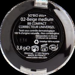 BB compact correcteur universel 5 en 1 - 02 beige medium - Sans étui
