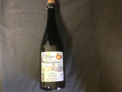 Cidre brut, les Martellières, 4°, bouteille verre de 75cl