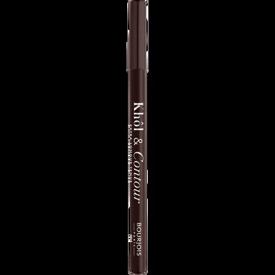 Crayon khôl et contour des yeux brun-dépendante BOURJOIS