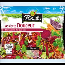 Assiette douceur, FLORETTE, sachet, 250g