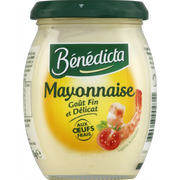 Bénédicta Mayonnaise Nature Benedicta, Pot 255g + Gourmand