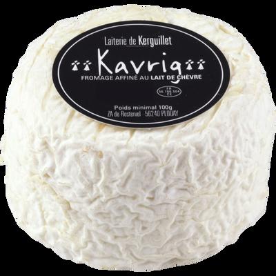 Kavrig crottin affiné Bio, au lait de chèvre pasteurisé, 24,9% Mat.Gr,100g