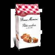 Bonne Maman Petit Marbré Au Chocolat Bonne Maman X20 Sachets Fraicheurs 600g