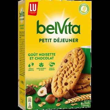 LU Biscuits Petit Déjeuner Chocolat Et Noisette Lu, 400g
