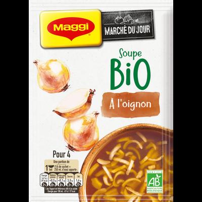 Potage soupe à l'oignon bio MAGGI, 50g