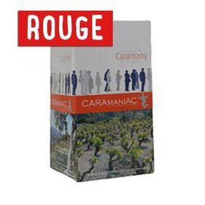 BIB 5L ROUGE - CARAMANIAC, Vin de Pays de Côtes Catalanes