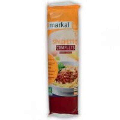 Spaghettis complets BIO, MARKAL, le paquet de 500g
