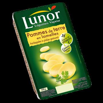 Lunor Pomme De Terre En Lamelle Cuite Vapeur, Lunor, Sous Vide 500g