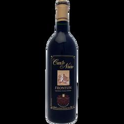 Fronton AOC rouge CARTE NOIRE, bouteille de 75cl
