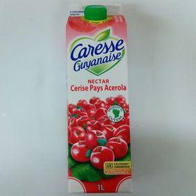 CARESSE GUYANAIS NECTAR CERISE 1L