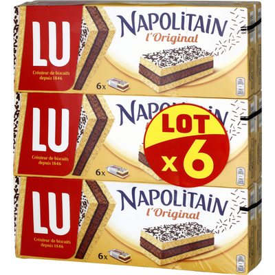 Individuel classic LU NAPOLITAIN, 6x180g