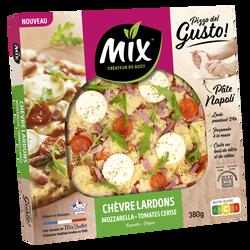 Pizza gusto chèvre lardon MIX BUFFET, 380g