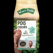 Vivien Paille Pois Cassés De Nos Agriculteurs , 500g