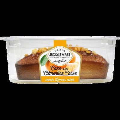 Cake à la clémentine de Corse c ur citron LE PETIT JAQUEMART, 300g
