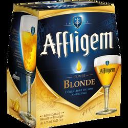 Bière blonde AFFLIGEM, 6,7°, 6x25cl