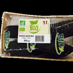 Radis noir, BIO, France, Barquette 500g