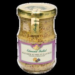 Moutarde miel et figues EDMOND FALLOT, bocal 10CL