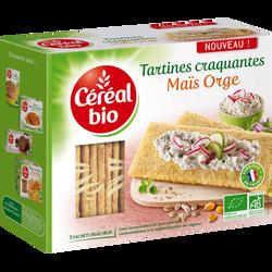 Tartines craquantes maïs orge, CEREAL BIO, 145g