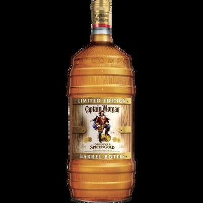 Rhum ambré CAPTAIN MORGAN, bouteille de 1,5l