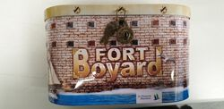 *BOITE OVALE FORT BOYARD AVEC C