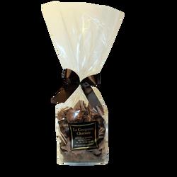Rochers chocolat noir et lait LES CROQUANTS CHATTOIS, sachet de 250g