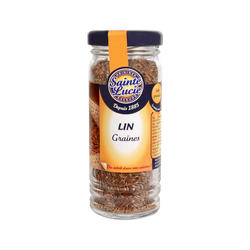 Graines de lin SAINTE LUCIE, 60g