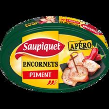 Encornets à l'huile pimentée SAUPIQUET, bôite de 110g