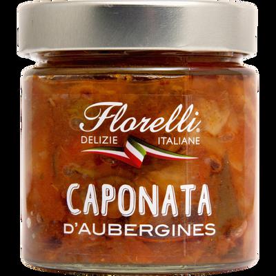 Sauce typique à base d'aubergines FLORELLI, 190g