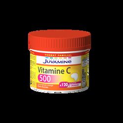 Vitamine c 500, maxi format JUVAMINE, 120 comprimés à croquer