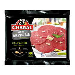 Carpaccio façon brasserie, CHARAL, France, 120g