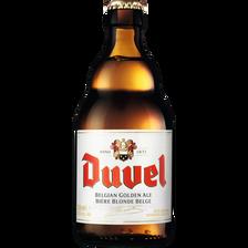 Bière blonde Belge DUVEL, 8,5°, 33cl