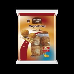 Magdalenas cuadradas madeleines forme carrée INPANASA, 300g