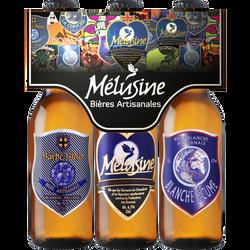 Bière panaché Mélusine TRIPACK, 3 bouteille de 33cl
