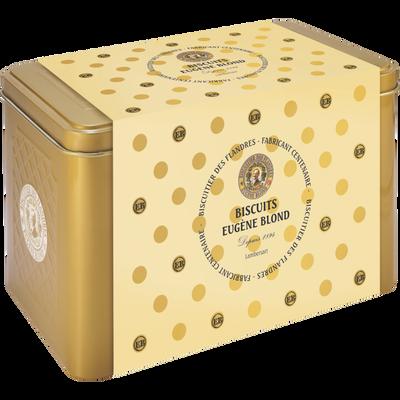 Coffret décor noël gaufrettes amusantes vanille EUGENE BLOND, 280g