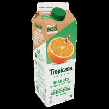 Tropicana Pur Jus D'orange Réfrigéré Avec Pulpe Tropicana Pure Premium, 1l