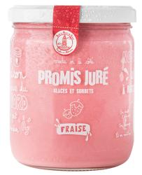 SORBET PLEIN FRUIT FRAISE PROMIS JURÉ BOCAL 300G