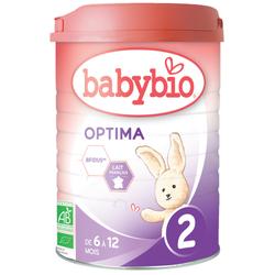 Optima 2 BABYBIO de 6 à 12 mois 900g